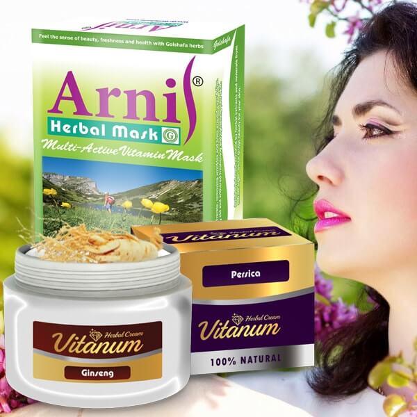 پکیج تقویت کننده پوست ویتانوم